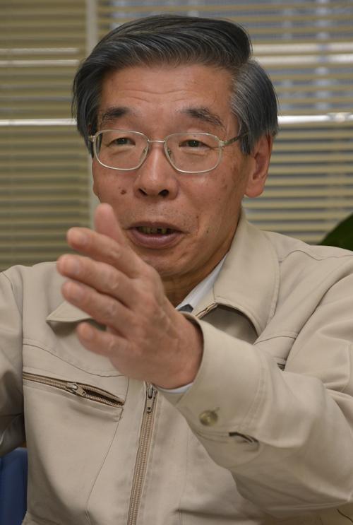全国土の会後藤逸男会長(東京農業大学名誉教授)