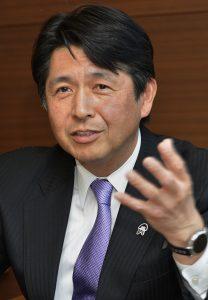 JA共済連 代表理事専務 村山美彦 氏