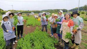 JAきみつ「体験農園指導」