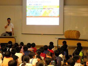 農林中金シンガポール支店が食育授業