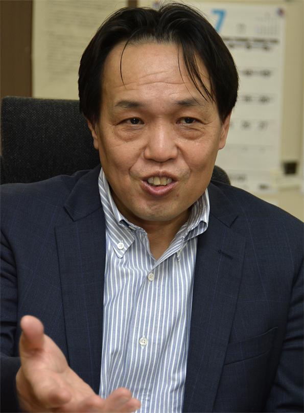 技術総括審議官兼農林水産技術会議事務局長の菱沼義久さん