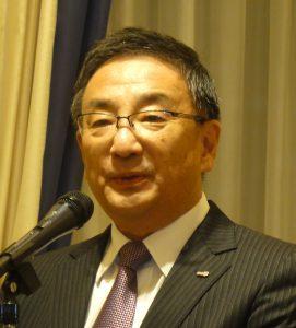 Meiji Seikaファルマ㈱小林大吉郎代表取締役社長