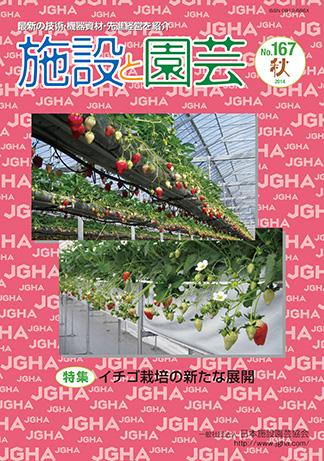 イチゴ栽培の新たな展開:施設と園芸167号