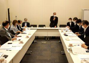 自民党「農民の健康を創る会」幹事会でJA全厚連がコロナ禍対策を要請
