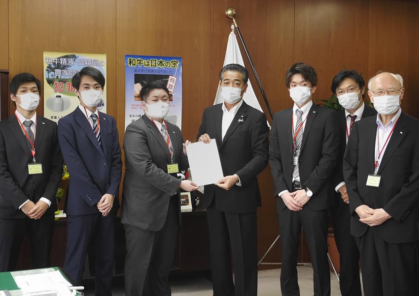 日本農業経営大学校学生が農水省に需要喚起等コロナ後見据えた対応を提言