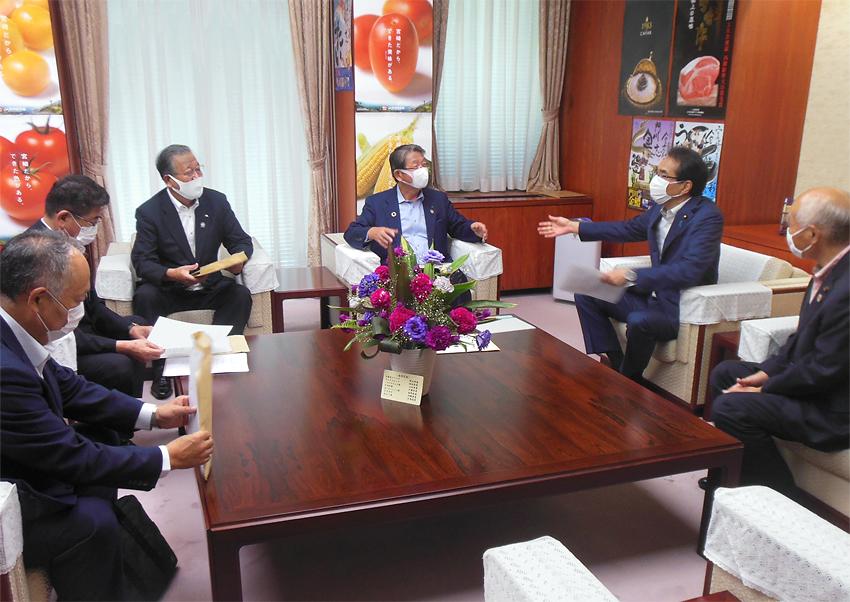 JAグループ福島が震災被災地域の営農再開促進等を農水省に要請