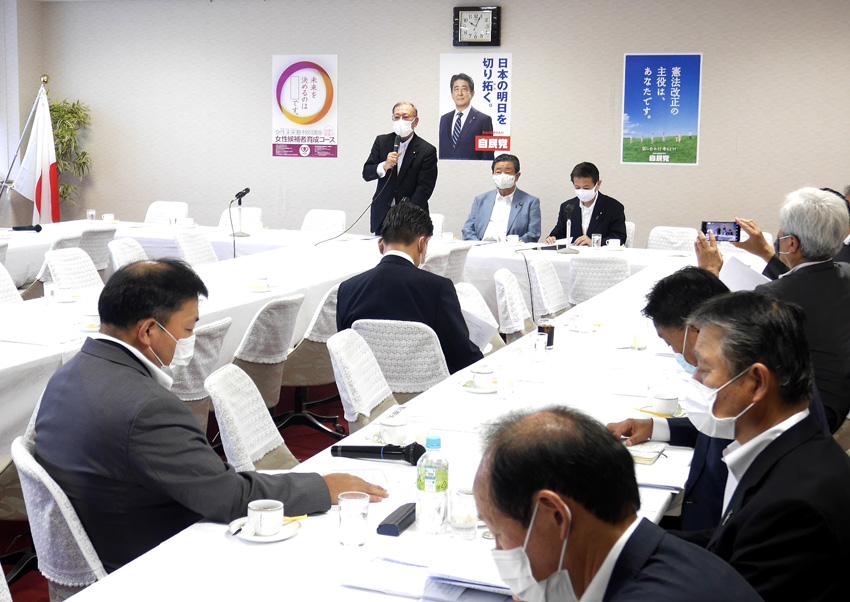 JA全厚連が自民党「農民の健康を創る会」にコロナ対策に関わって要請