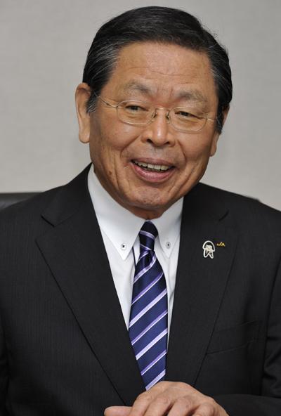 JA共済連青江伯夫経営管理委員会会長