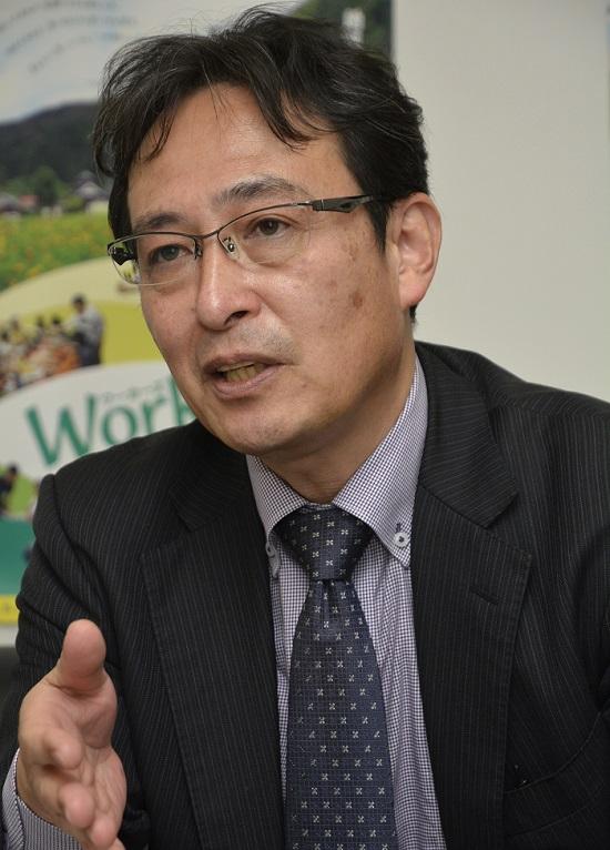 日本労働者協同組合(ワーカーズコープ)連合会古村伸宏理事長