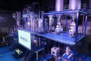 サタケが新型精米プラント「MILSTA」を開発、広島本社で公開