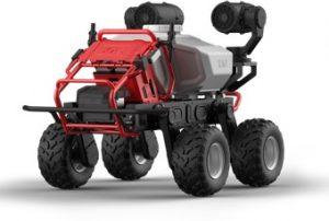 バイエルクロップサイエンス社の農業用無人車「R150」