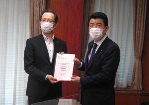 福島県が農水省にALPS処理水処分に係る対応等を要請